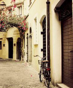 Rome behind the Campo di Fiori, Italy