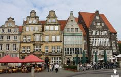 MarketPlatz em Bremen, uma cidade de conto de fadas na Alemanha!