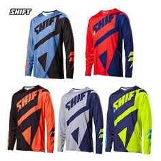 18b296662 2017 Long Sleeve MTB Offroad Cycling Jersey Downhill Racing bike bicycle  Clothing DH MX T-shirt Sports wear Shirts