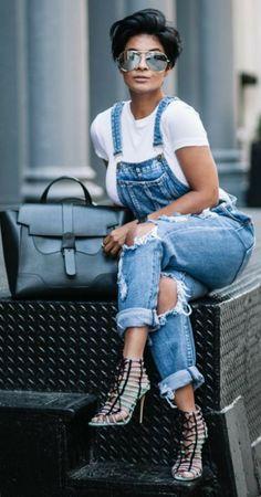 Kyrzayda Rodriguez ~ RIP Beautiful One Fashion Mode, Diva Fashion, Denim Fashion, Cute Fashion, Look Fashion, Womens Fashion, Fashion Trends, Korean Fashion, Fashion Tips