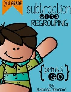 3-Digit Subtraction with Regrouping {FREEBIE}**This is part of my 2nd Grade Math Bundle , if you enjoy this resource!**INCLUDED ARE 2 PRINTABLES AND 2 ANSWER KEYSEach Printable Covers:*3-Digit subtraction problems*Regrouping in ones and tens place*Transfer letter from each problem to the correct answer down below*Solve the riddle!Standards *MCC.NBT.7This 3-Digit Subtraction with Regrouping Freebie provides practice with regrouping in the ones and tens place.
