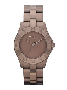 Marc by Marc Jacobs Women's Blade Brown Watch