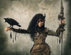 The Morrigan derives from Irish Celtic mythology and is known as the ...