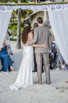 Beach wedding Antigua - Chris & Pippa