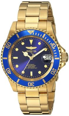 Shop Invicta Pro Diver Unisex Wrist Watch Stainless Steel Automatic Blue Dial ✓ free delivery ✓ free returns on eligible orders. Seiko, Hugo Boss, Fossil, Festina, Leather Watch Box, Automatic Watches For Men, Hand Watch, Vintage Watches For Men, Gold Plated Bracelets