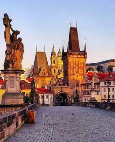 Prague , Czech Republic @ voyageblonde