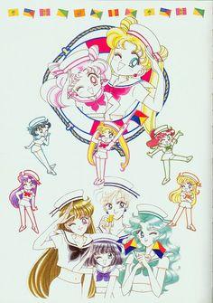 Naoko Takeuchi, Toei Animation, Bishoujo Senshi Sailor Moon, Michiru Kaioh, Ami Mizuno