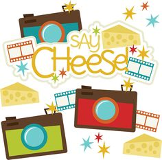 Say Cheese! - SVG Scrapbooking files