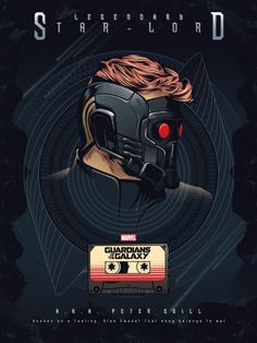 Fan art of 'Star-Lord'/'Peter Quill' from 'Guardians Of The Galaxy' Marvel Comics, Films Marvel, Marvel Movie Posters, Marvel Heroes, Marvel Avengers, Peter Quill, Star Lord, Stark Tower, Gardians Of The Galaxy