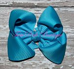 Hair Bow Boutique Turquoise