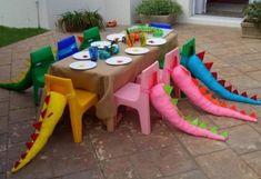 Decoración de Fiesta Temática: Fiesta de Dinosaurios