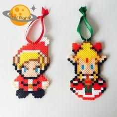 The Legend of Zelda: Four Swords Perler Beads Sprite Link