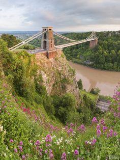 Oh my, Britain! Clifton Bridge, Bristol Bridge, Bristol England, Bristol Uk, Clifton Village, Isambard Kingdom Brunel, Avon, Famous Bridges, North Somerset