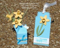 Daffodil Thank You - from http://qbeesquest.blogspot.com/search/label/Daffodil