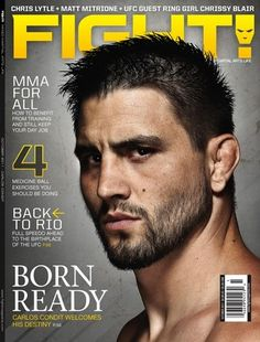 Carlos Condit.  My favorite UFC fighter.  ♥