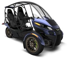 Arcimoto's eighth generation SRK three-wheeler seems to be one of the most alluring urban commuting solutions for two, especially as it comes with a neat price and room for two and their luggage.