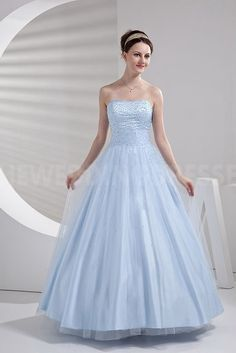 Luxury Blue Satin Ball Dresses - Order Link: http://www.theweddingdresses.com/luxury-blue-satin-ball-dresses-twdn4138.html - Embellishments: Beading; Length: Floor Length; Fabric: Satin; Waist: Natural - Price: 148.813USD