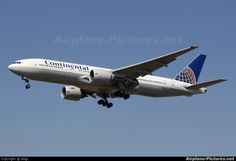 N79011 Continental Airlines Boeing 777-200ER