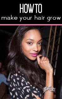 Tips and products for making your hair grow faster.