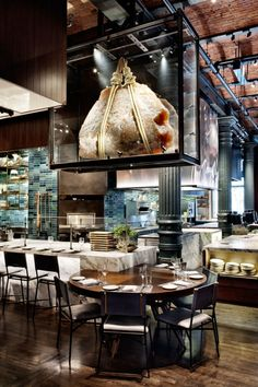 Meet the new restaurant Chefs Club, by David Rockwell and Murray Moss | #nydesign #nydesignagenda