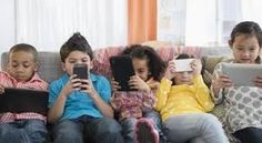 Image result for kids using technology