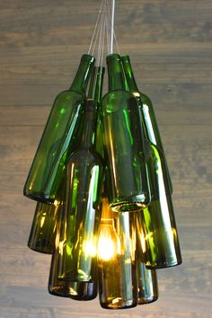 20 bright ideas diy wine beer bottle chandeliers beer bottle how to make a wine bottle chandelier yahoo image search results aloadofball Choice Image