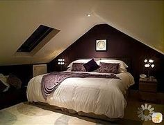 low ceiling, loft bedroom
