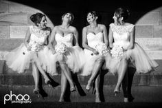 Bridesmaids in Liade Couture