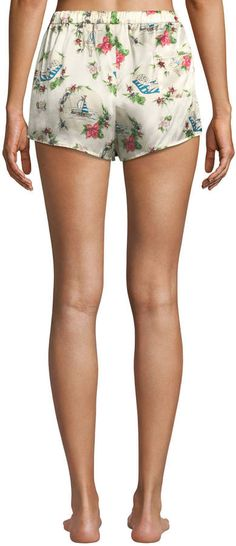 Morgan Lane Lanie Martine Tropical Silk Pajama Shorts  Lanie Martine Morgan d900cc9ee