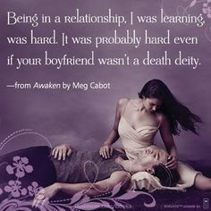 Like if you agree with this quote from AWAKEN by Meg Cabot! Learn more about the Abandon series here: www.facebook.com/thisisteen