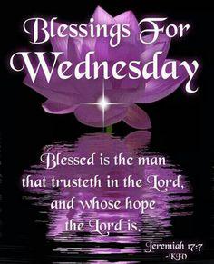 Blessings for Wednesday!