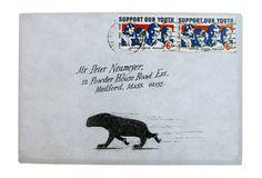 Edward Gorey. Envelopes