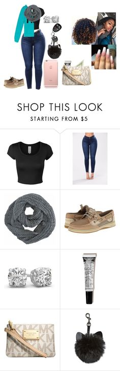 """""""I'm so happy it's cold"""" by chanel-xoxo123 ❤ liked on Polyvore featuring Victoria's Secret, Sperry and Michael Kors"""