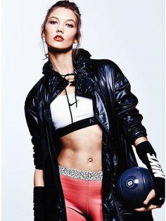 The ELLE US 'Screen Stars' Photoshoot Stars Model Karlie Kloss #karliekloss trendhunter.com
