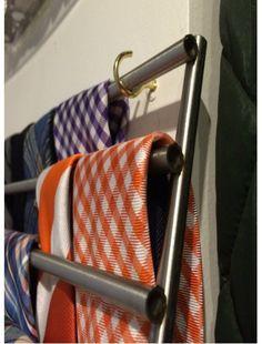 Lamplig Trivet Into Tie Rack