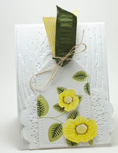 Homemade Cards by Erin: WMS Flowers