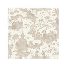 Buy Cole & Son Chinese Toile Wallpaper Online at johnlewis.com