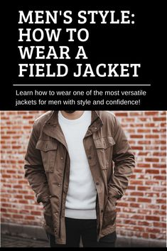 Want to wear a field jacket with confidence and style? Supreet from PocketStylist.io shows you how to rock this jacket to the T! This post teaches you how to layer, what to wear it with, outfit examples and inspiration. Supreet is an Image Consultant from San Francisco, CA and helps men discover their personal style and how to bring it to life. Check out PocketStylist.io for more inspiration. Field Jackets, Weekend Wear, Military Jacket, Confidence, Personal Style, San Francisco, Layers, Menswear, Mens Fashion