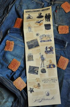 Levi's: story on vintge stuff My Jeans, Levis Jeans, Denim, Levi Strauss, Vintage Levis, Indigo, Menswear, Zero, Ads