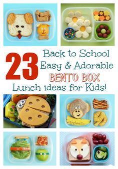 23 Easy & Adorable Back-to-School Bento Box Lunches! 23 Back to School EASY & Adorable Bento Lunch ideas for Kids! 23 Easy & Adorable Back-to-School Bento Box Lunches! 23 Back to School EASY & Adorable Bento Lunch ideas for Kids! Bento Box Lunch For Kids, Bento Kids, Back To School Lunch Ideas, Cool Lunch Boxes, School Lunch Box, Lunch Snacks, Box Lunches, Bento Lunch Ideas, Preschool Lunch Ideas