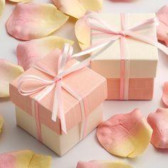 wedding favor boxes decoration