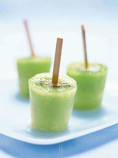This mouthwatering recipe makes kiwi ice pops one of the coolest ways to extinguish summer's sizzle.