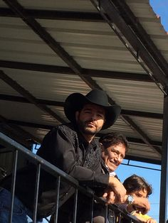 Pablo Montero guest of honor at the Charro's Day Parade.