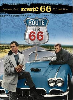Route 66 (1960-1964), starring Martin Milner and George Maharis, with their iconic '61 Corvette convertible