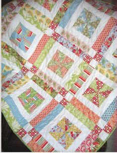 10 Quilt Patterns for Layer Cakes – What do I do with this Layer Cake? | Quilt Show News