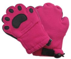 Bear Hands Fleece Mittens for Kids: Warm and cozy with fleece and Thinsulate while allowing access to their fingers through a secret flap! $16.99