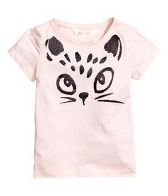 Camiseta con motivo estampado | Rosa claro | Niños | H&M MX