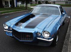 1970 Camaro Z28 SS-Blue Mulsanne
