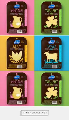 Cheese poster design products Ideas for 2019 Dairy Packaging, Cheese Packaging, Organic Packaging, Cool Packaging, Food Packaging Design, Packaging Design Inspiration, Branding Design, Cheese Design, Logo Shapes