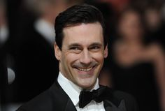 'Mad Men' star John Hamm poses on the red carpet arriving at the BAFTA British Academy Film Awards at the Royal Opera House in London on February — AFP pic John Hamm, Outfits For Teens For School, Men Over 40, British Academy Film Awards, Actor John, Artists And Models, Trendy Clothes For Women, Haircuts For Men, Men's Haircuts